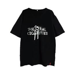 目立ちたがりグランジロゴTシャツ/ブラック