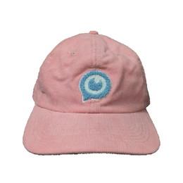 コーデュロイキャップ/ピンク