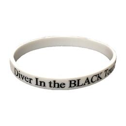 Diver In the BLACK ラバーバンド/ホワイト