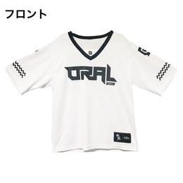 オリジナルBKW!!スポーツTシャツ2018(ハーフスリーブ)/ホワイト