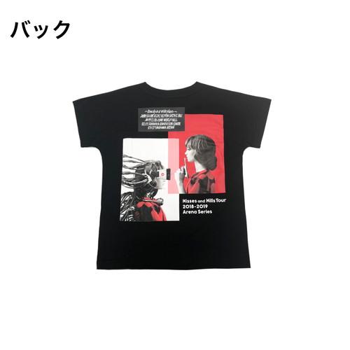 Kisses and Kills アリーナツアーTシャツ(キッズTシャツ)