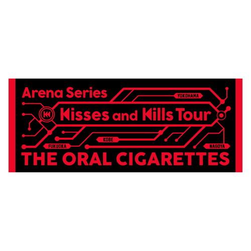 Kisses and Kills アリーナツアージャガードフェイスタオル