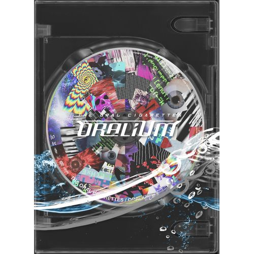 "Live DVD & Blu-ray  ""Experimental package「ORALIUM」"" 【DVD】"