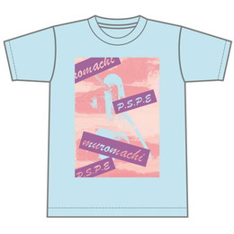 [P.S.P.E限定]muromachiTシャツ(青)