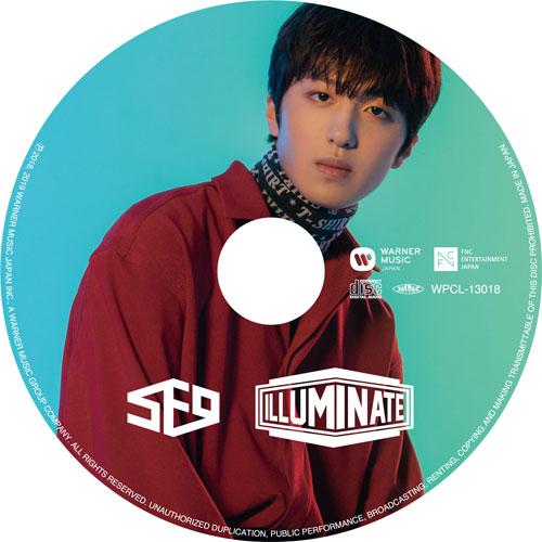 SF9 JAPAN 2nd アルバム「ILLUMINATE」 【CHA NI:完全生産限定ピクチャーレーベル盤】