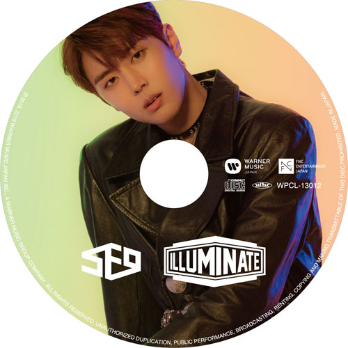 SF9 JAPAN 2nd アルバム「ILLUMINATE」 【JAE YOON:完全生産限定ピクチャーレーベル盤】
