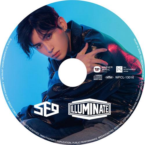SF9 JAPAN 2nd アルバム「ILLUMINATE」 【TAE YANG:完全生産限定ピクチャーレーベル盤】