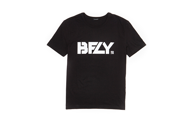 BFLY Loose Fit TEE BLACK