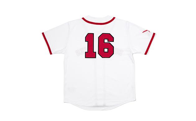 BFLY Baseball Shirts WHITE