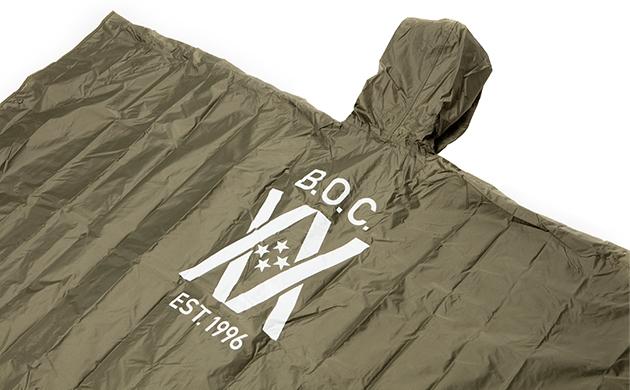 20TH ANNIV. Rain Poncho KHAKI