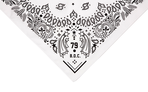 Bandanna Numbering79 WHITE
