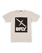 BFLY Tour TEE SILVER GRAY