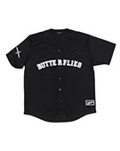 BFLY Baseball Shirts BLACK