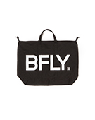 BFLY 2way Tote Bag BLACK