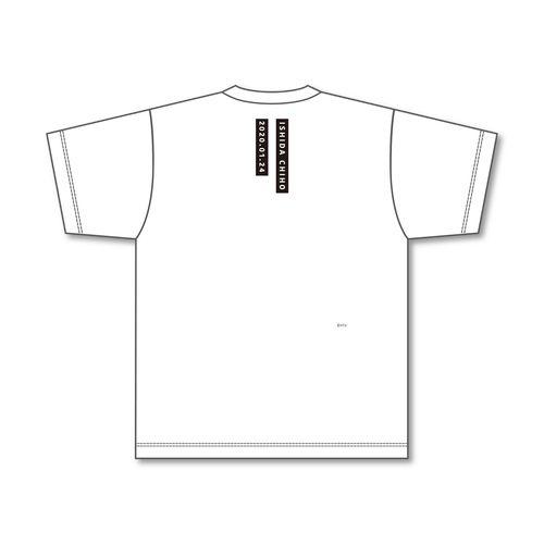 STU48 石田千穂プロデュース イラスト Tシャツ