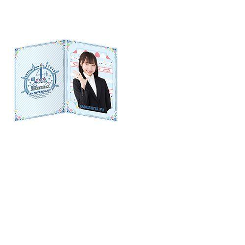 STU48 4th Anniversary 台紙付きランダム個別ミニポスター