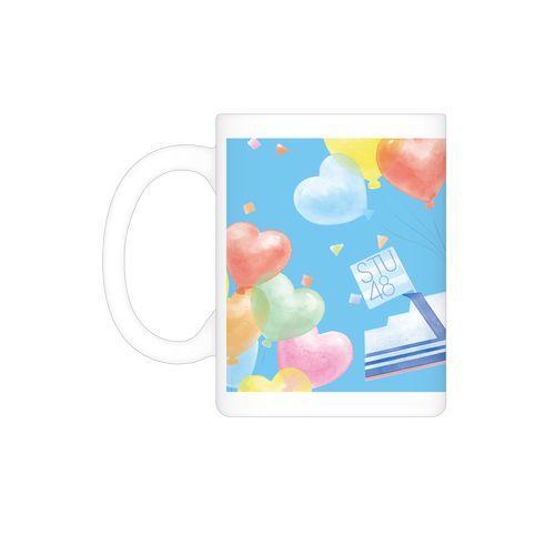 STU48ラストシップ公演 個別アクリルスタンドコースター&ロゴ入りマグカップ