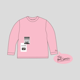 """THE FUTURE WITH ME"" ロングTシャツ -Baby Pink"