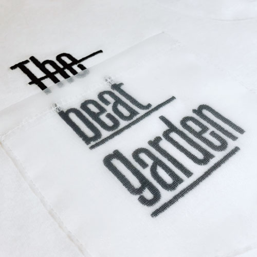 THE BEAT GARDEN デザインポケット刺繍Tee