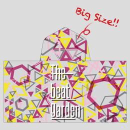 THE BEAT GARDEN  Bigフード付 2wayバスタオル