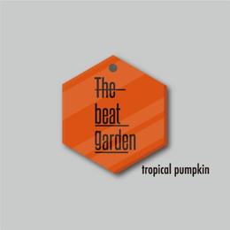 """THE BEAT GARDEN スケルトン アクリルバッジ """"Neon fruits -トロピカルパンプキン-"""""""