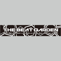 THE BEAT GARDEN オフィシャルマフラータオル -モノトーンver.-