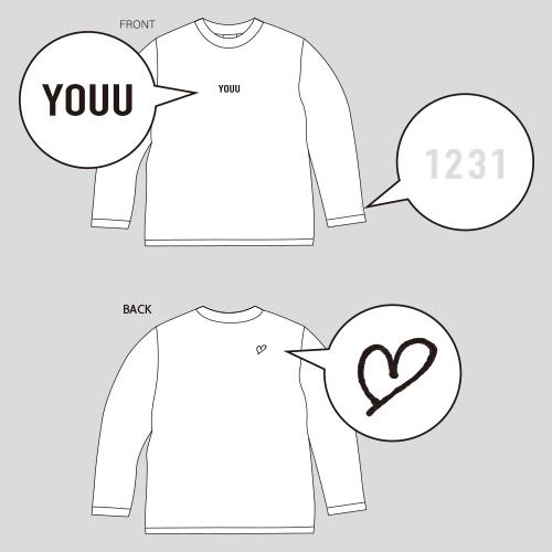 【受注生産】U Birth anniversary LONG SLEEVE T-SHIRTS