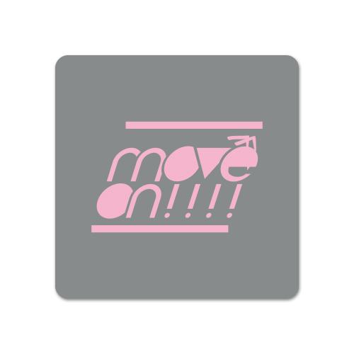 move on!!!! リストバンド