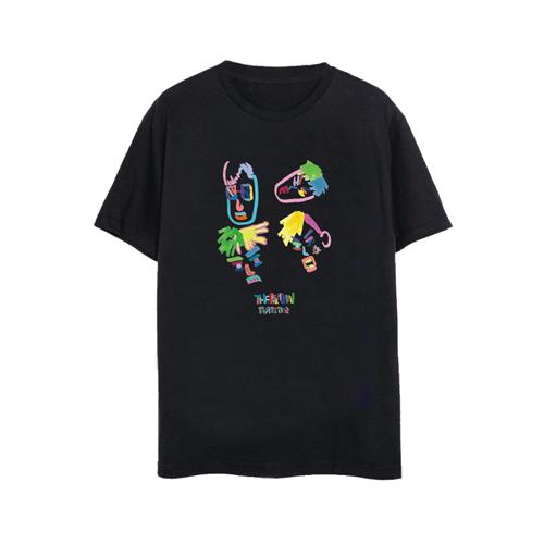 銀河遊牧会2018イラストTシャツ(ブラックver.)