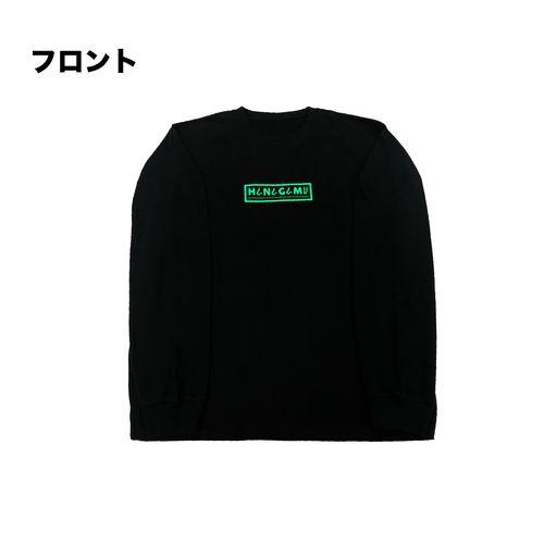 HANAGAMI ロンT/緑