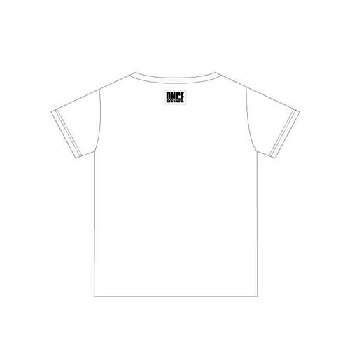 ONCE JAPAN ORIGINAL Tシャツ/ホワイト