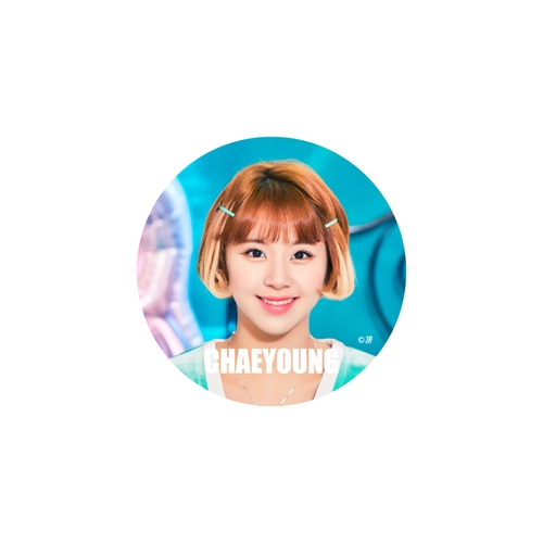 TWICE WORLD TOUR 2019 'TWICELIGHTS' IN JAPAN TOKYO DOME 缶バッチ【CHAEYOUNG】