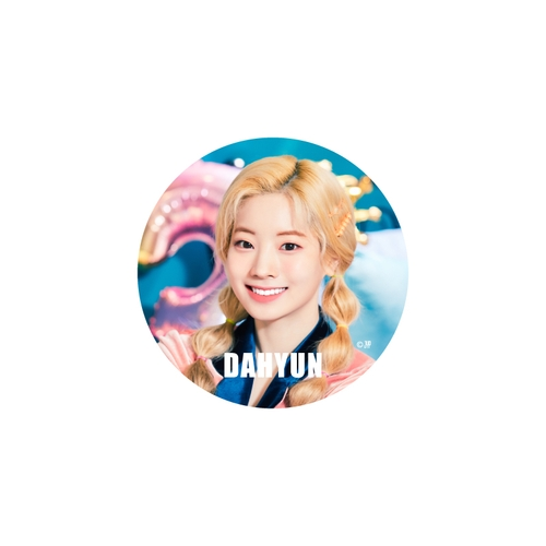 TWICE WORLD TOUR 2019 'TWICELIGHTS' IN JAPAN TOKYO DOME 缶バッチ【DAHYUN】