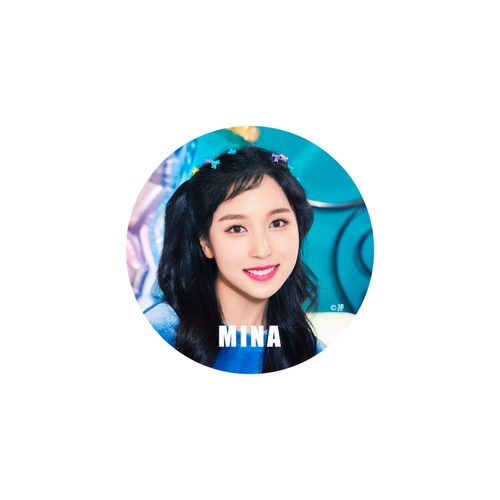 TWICE WORLD TOUR 2019 'TWICELIGHTS' IN JAPAN TOKYO DOME 缶バッチ【MINA】