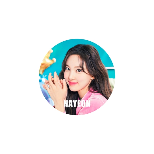 TWICE WORLD TOUR 2019 'TWICELIGHTS' IN JAPAN TOKYO DOME 缶バッチ【NAYEON】
