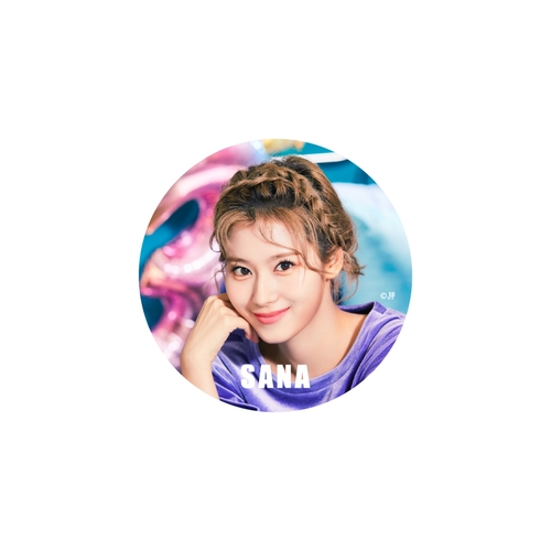 TWICE WORLD TOUR 2019 'TWICELIGHTS' IN JAPAN TOKYO DOME 缶バッチ【SANA】