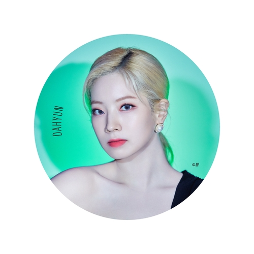 TWICE WORLD TOUR 2019 'TWICELIGHTS' IN JAPAN BIG缶バッチ【DAHYUN】