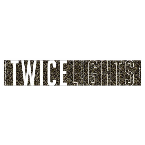 TWICE WORLD TOUR 2019 'TWICELIGHTS' IN JAPAN TOKYO DOME マフラータオル