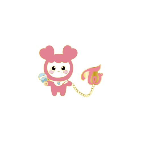 TWICE WORLD TOUR 2019 'TWICELIGHTS' IN JAPAN Baby MOVELY ピンバッチ