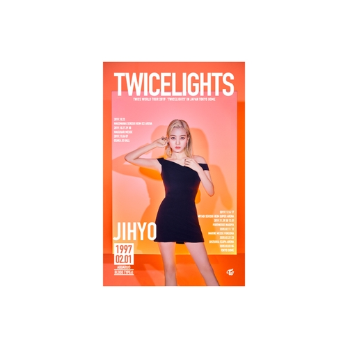 TWICE WORLD TOUR 2019 'TWICELIGHTS' IN JAPAN タペストリー【JIHYO】