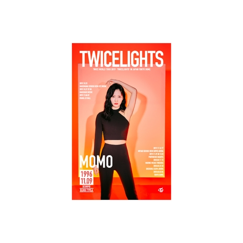 TWICE WORLD TOUR 2019 'TWICELIGHTS' IN JAPAN タペストリー【MOMO】