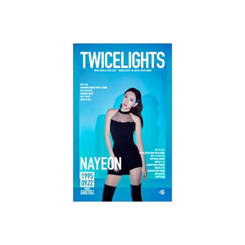 TWICE WORLD TOUR 2019 'TWICELIGHTS' IN JAPAN タペストリー【NAYEON】