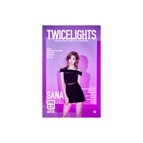 TWICE WORLD TOUR 2019 'TWICELIGHTS' IN JAPAN タペストリー【SANA】