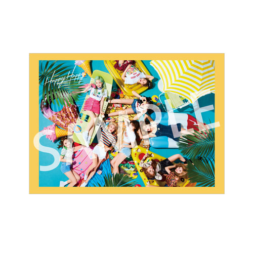 「HAPPY HAPPY」(初回限定盤A+初回限定盤B+ONCE JAPAN限定盤)