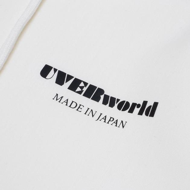 【TAKUYA∞ Produce】MADE IN JAPAN プルオーバーパーカー(ホワイト)