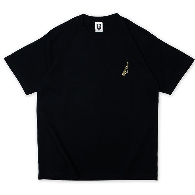 【誠果 Produce】Saxes T-shirts(ブラック)