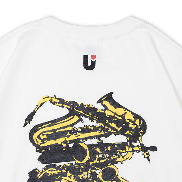 【誠果 Produce】Saxes T-shirts(ホワイト)