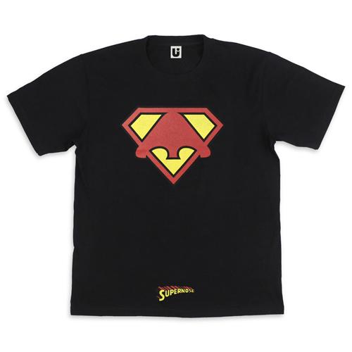 """【信人 Produce】""""SUPER NOSE MAN"""" BIG Tシャツ"""