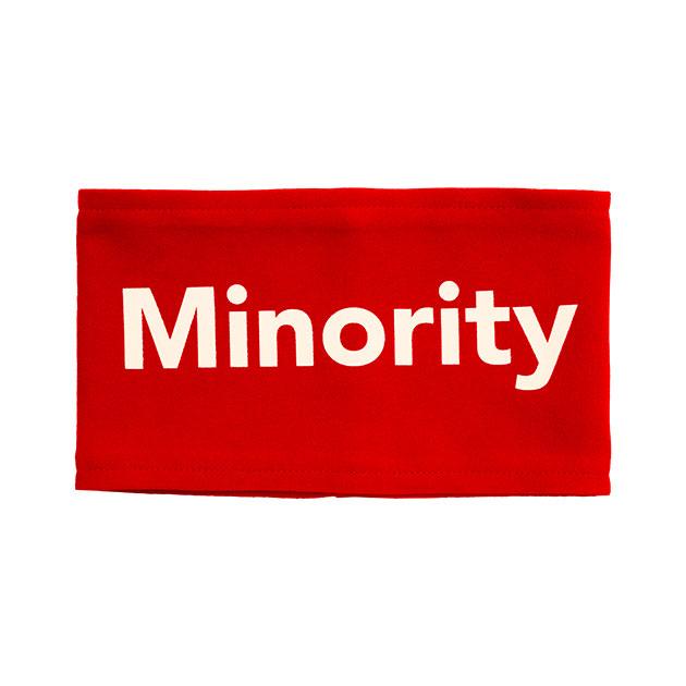 """【信人 Produce】""""Minority""""腕章(レッド) - ARENA TOUR 2018"""