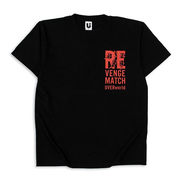REVENGE MATCH Tシャツ(ブラック)